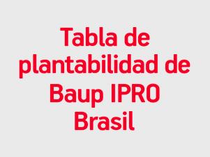 Tabla IPRO Brasil